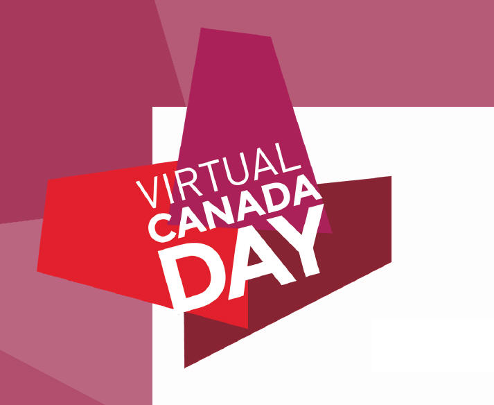 Virtual Canada Day Logo