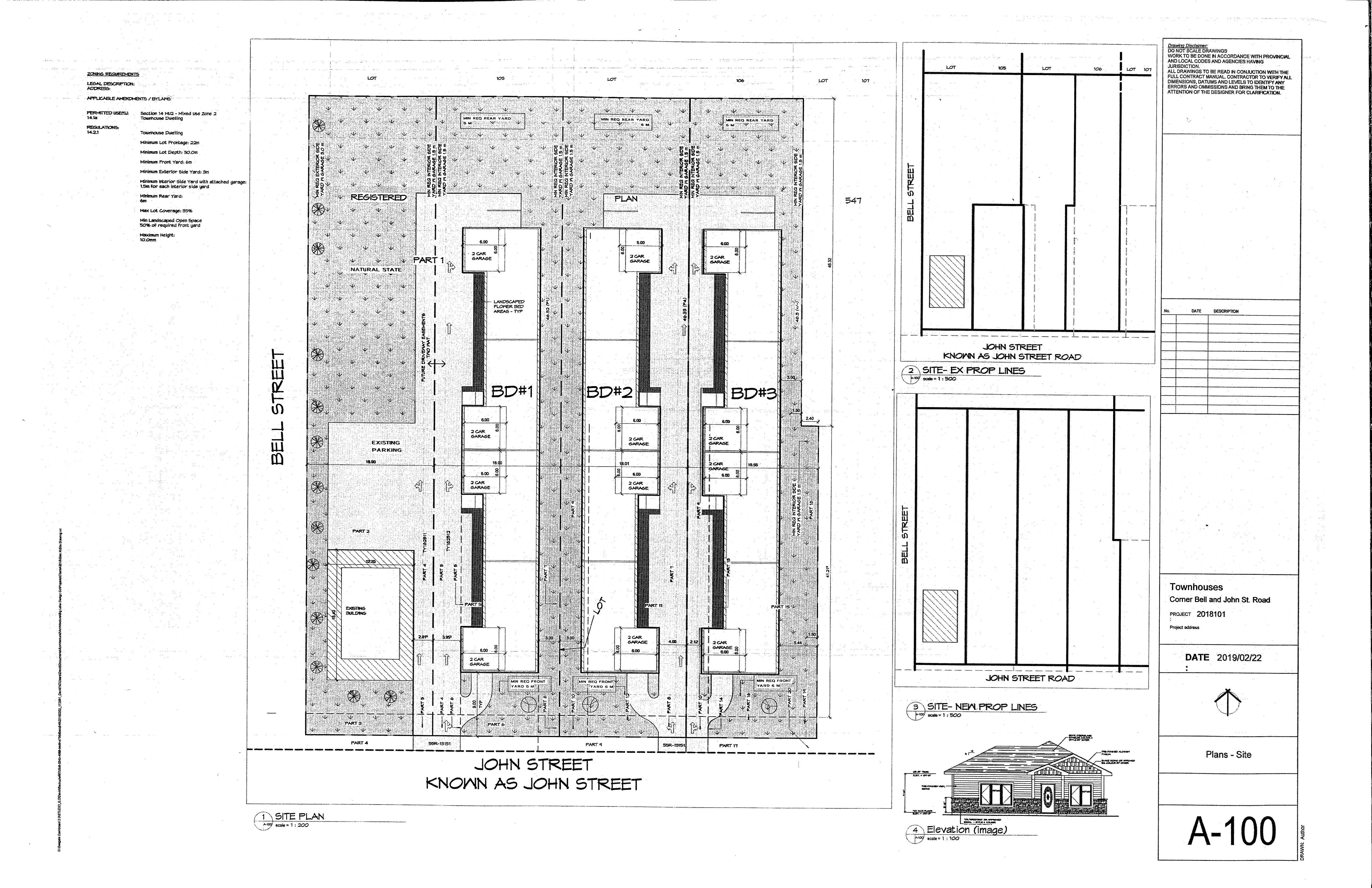 Applicant's Site Plan