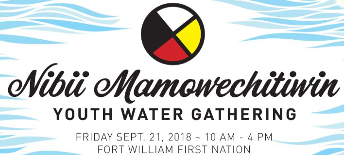 Youth Water Gathering Event Poster